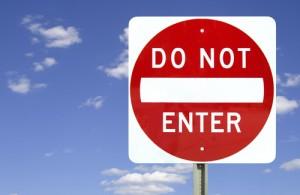 do not enter sign 2