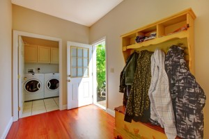 5 ways to fake a mudroom